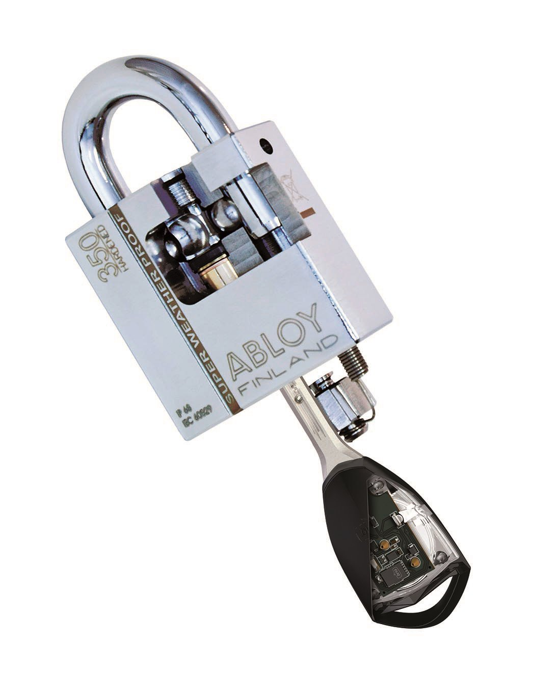 New CLIQ padlock